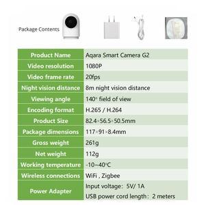 Image 5 - Aqara חכם מצלמה G2 1080P Gateway מהדורה Zigbee חכם הצמדת Wifi אלחוטי ענן אבטחת בית