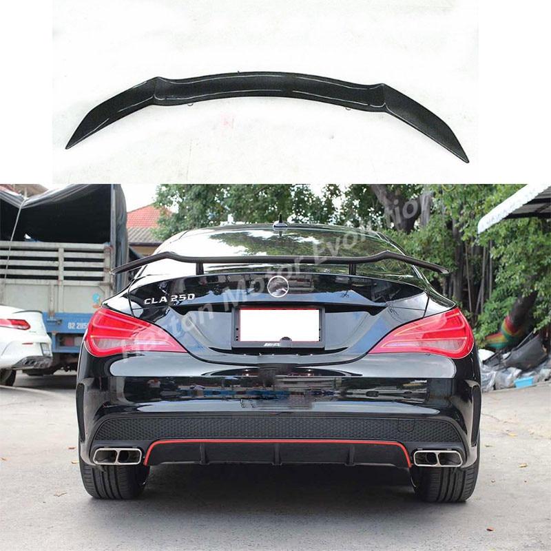 Rowen stile fibra di Carbonio posteriore tronco spoiler ala per Mercedes Benz CLA W117 CLA250 CLA260 CLA45