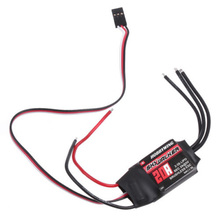 4X ESC Hobbywing Скайуокер 20A Электронный Безщеточный Управление Скоростью RC