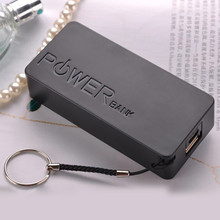 Power Bank Case Battery Charger Box 5600mAh 2X 18650 USB Mob