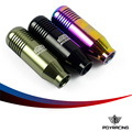 PQY RACING- NEW RACING MUGEN Shift Knob GEAR KNOBS for Honda Acura M10x1.5 BALCK,NEO CHROME,TITANIUM PQY- SK71