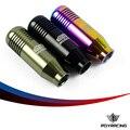 Pqy-universal carreras perillas de nueva racing mugen perilla del cambio de engranaje para honda acura m10x1.5 balck, neo chrome, titanium pqy-sk71