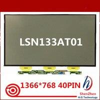Original 13.3'' WXGA LCD Screen Display Glass Laptop Panel LSN133AT01 For Samsung NP900X3A 1366x768