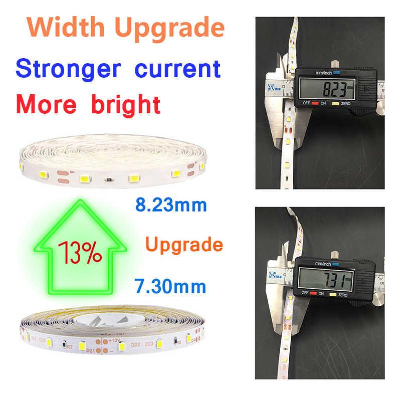 5 M 300 LED 3528 RGB Lampu LED Strip SMD Kecerahan Tinggi Tahan Air DC 12 V 60 LED/M Diode tape Lebih Lebih Terang dari 2835 Lampu LED Strip