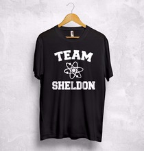 Team Sheldon Cooper T Shirt Top Big Bang Theory Chemistry Penny Leonard Bazinga T-Shirt More Size and Colors-A949