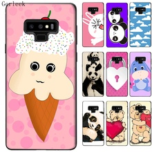 Black TPU Case Cute 3D Cartoon Cover For