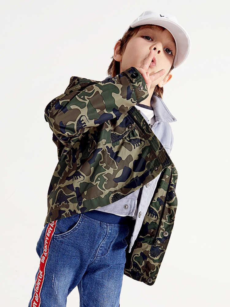 Balabala/уличная куртка для мальчиков 2 в 1 со съемным флисовым подклад куртки детская зимняя куртка для маленьких мальчиков, пальто, верхняя одежда