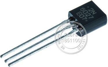 100pcs 2N6027 New and ORIGINAL Programmable Unijunction Transistors