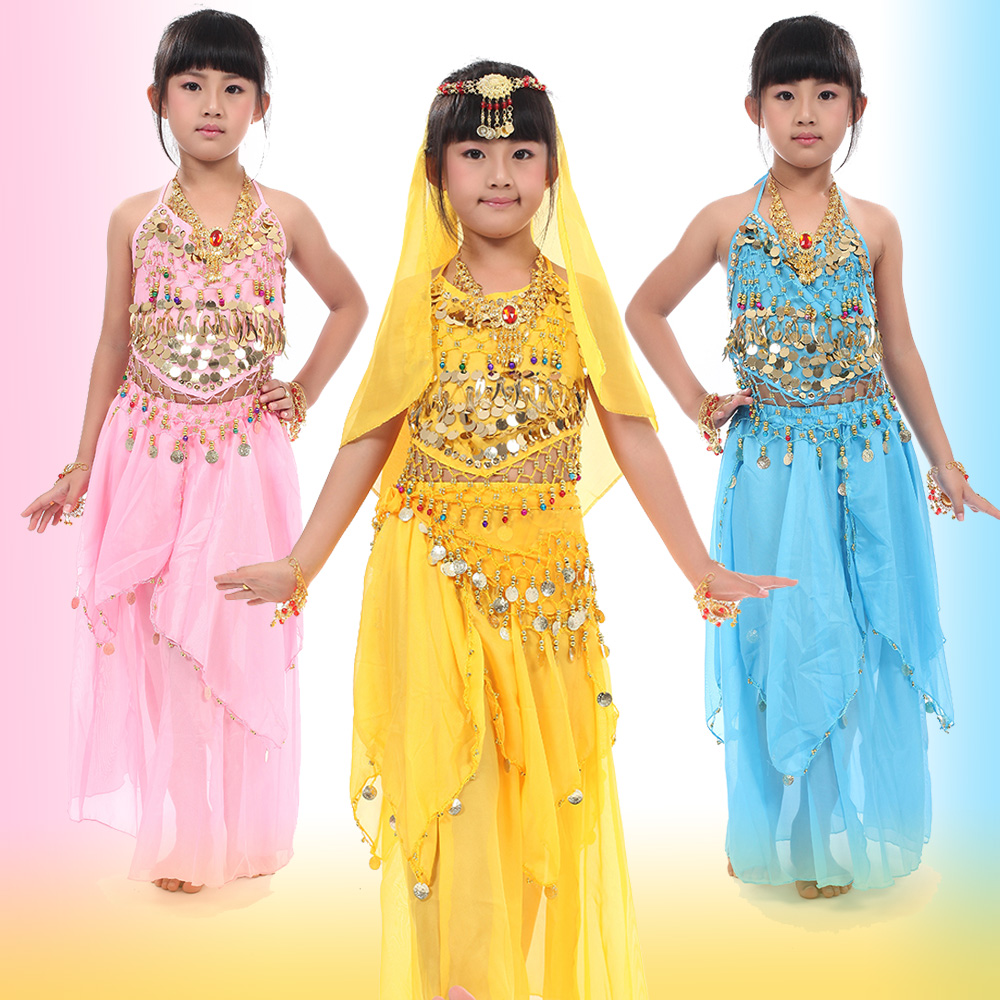 Child Costume Belly Dance Clothes Performance Wear Clothes