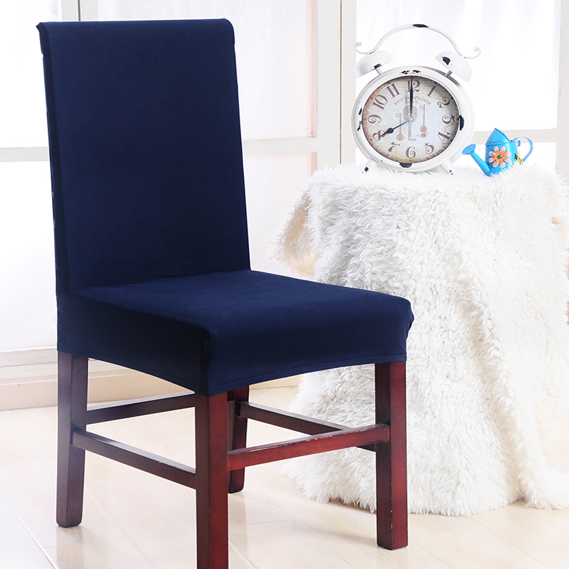 1pc Universal Stretch Chair Cover Household Elastic Anti-fouling Chair Cover Hotel Dining Office Computer Seat Cover(China)
