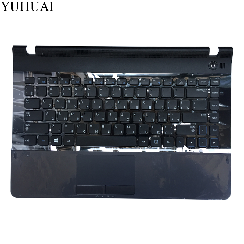NEW Russian Keyboard for Samsung NP300E4C 300E4A NP300E4A E4A V4A NP300E4A RU Black keyboard цена