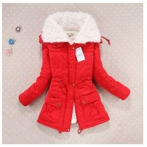 Image 4 - ฤดูหนาวเสื้อผ้าผู้หญิงขนแกะ Lamb Fur Parka หนาผู้หญิงฤดูหนาวเสื้อโค้ทและแจ็คเก็ต Warm Parkas Women Plus ขนาดเสื้อแจ็คเก็ตฤดูหนาวผู้หญิง