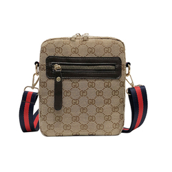2019 New Fashion Luxury Small Square Bag Men and Women with High Quality Canvas Messenger Bag Classic Style