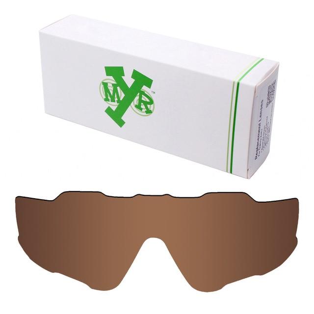 b0ec10a1e0021 Jawbreaker Mryok POLARIZADA Lentes de Reposição para Oakley óculos de Sol  Marrom Bronze