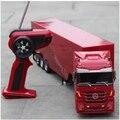 Дистанционное управление грузовик детская электронная игрушка автомобиль большой Rc грузовой автомобиль с прицепом дети RC Игрушечная моде...