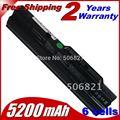Portátil batería bty-s11 bty-s12 de msi x100 x100-g x100-l jigu para msi e1210 u100 u90 wind12 u200 u210 u230 negro 6 células