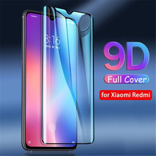 tempered glass for redmi note 7 9D Screen protector xiaomi protective