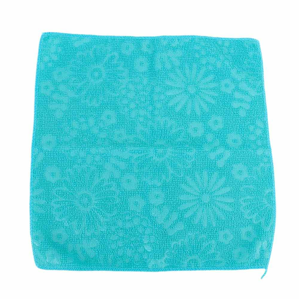 قوي امتصاص الماء ستوكات الليفة الخيزران الألياف غسل منشفة سحرية المطبخ تنظيف قطعة قماش للمسح أدوات المطبخ