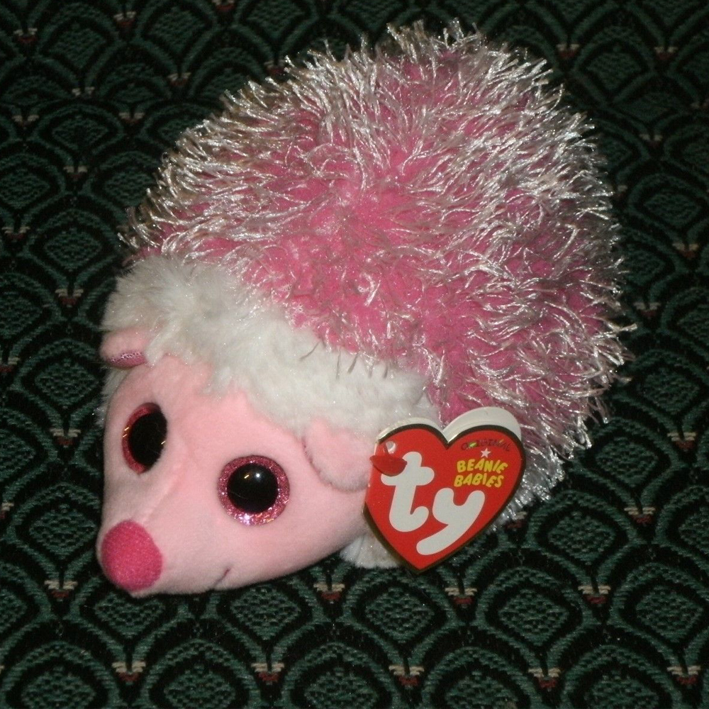 a5716695710 2019 Pyoopeo Ty Beanie Boos 6 Mrs. Prickly The Pink Hedgehog Plush ...