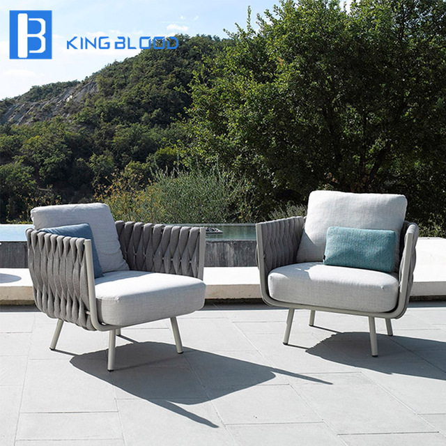 Rope Patio Furniture.Us 800 0 Aliexpress Com Buy Modern High Quality Outdoor Rope Garden Sofa Furniture From Reliable Garden Sofas Suppliers On Kingbloodsofa Store