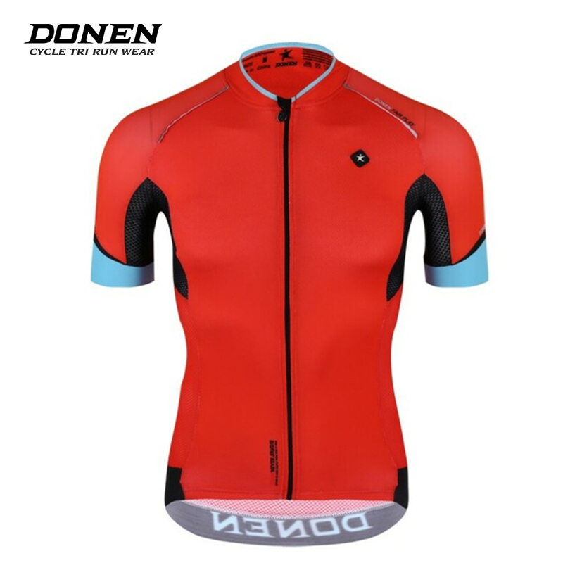 Donen Custom Men's Summer Red coolRiding short sleeve cycling Jersey ciclismo bike racing cycling tops Rcc team cycling clothes радиоуправляемая игрушка shenglong racing team red white 757879