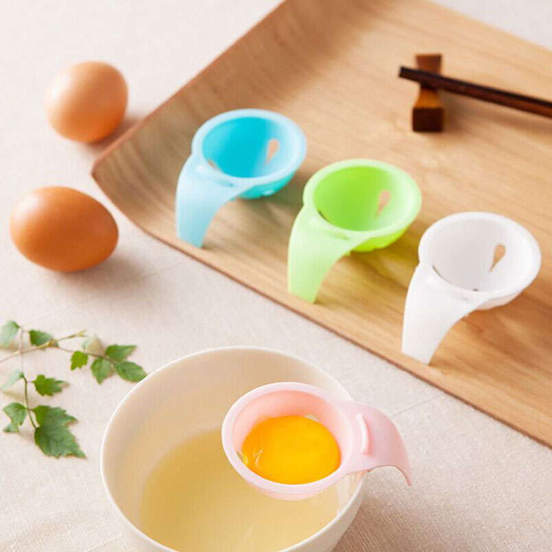 1 pcs Good Quality Plastic Egg White Yolk Separator Divider filter Kitchen Cooking Sifting Gadget for home&restaurant&hotel