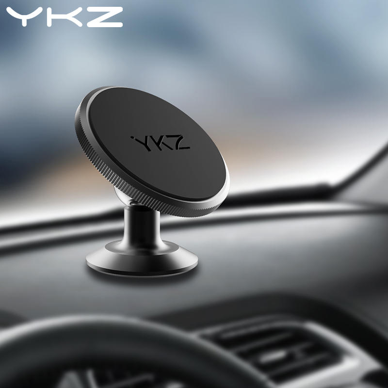 YKZ Universal Car Holder Dashboard Magnetic Car Phone Holder 360 Rotating Magnet Air Vent Holder Socket Mobile Phone Car Holder