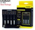 LiitoKala Lii-100 lii-202 Lii-402 1.2 V / 3 V / 3.7 V / 4.25V 18650/26650/18350/16340/18500/AA/AAA NiMH lithium battery charger