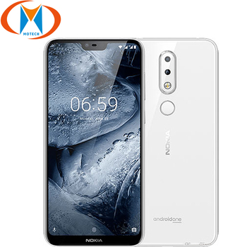 5.8″ 4GB RAM 64GB ROM Nokia 6.1 Plus TA-1103 3060mAh Battery SmartPhone 4G LTE Snapdragon 636 Octa Core Fingerprint Mobile Phone