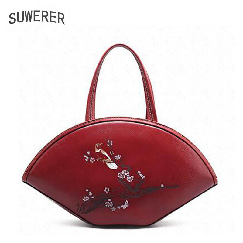 SUWERER new Genuine Leather women bags for women luxury handbags women bags designer tote handbags women famous brands suwerer new genuine leather women bags special craftsmanship fashion luxury handbags women bags designer women leather handbags