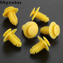 Mgoodoo 20Pcs Clips Sill Kick Plate Cover Trim Retainer Fasteners Yellow For Rover 75 ZT EKM100270 D164