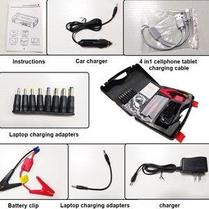 Image 2 - Tragbare Auto Starthilfe Power Bank Auto Starter USB 600A 12V 68800mAh Hohe Kapazität Ausgehend Gerät Auto Batterie ladegerät Booster