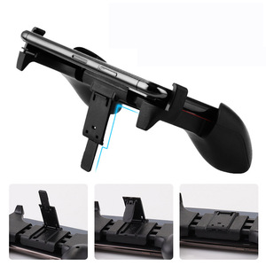 Image 5 - 2 in 1 Mobile Phone Game Controller For PUBG Mobile Trigger Gamepad Gaming  Fire /Aim Key Button L1R1 Shooter Joystick