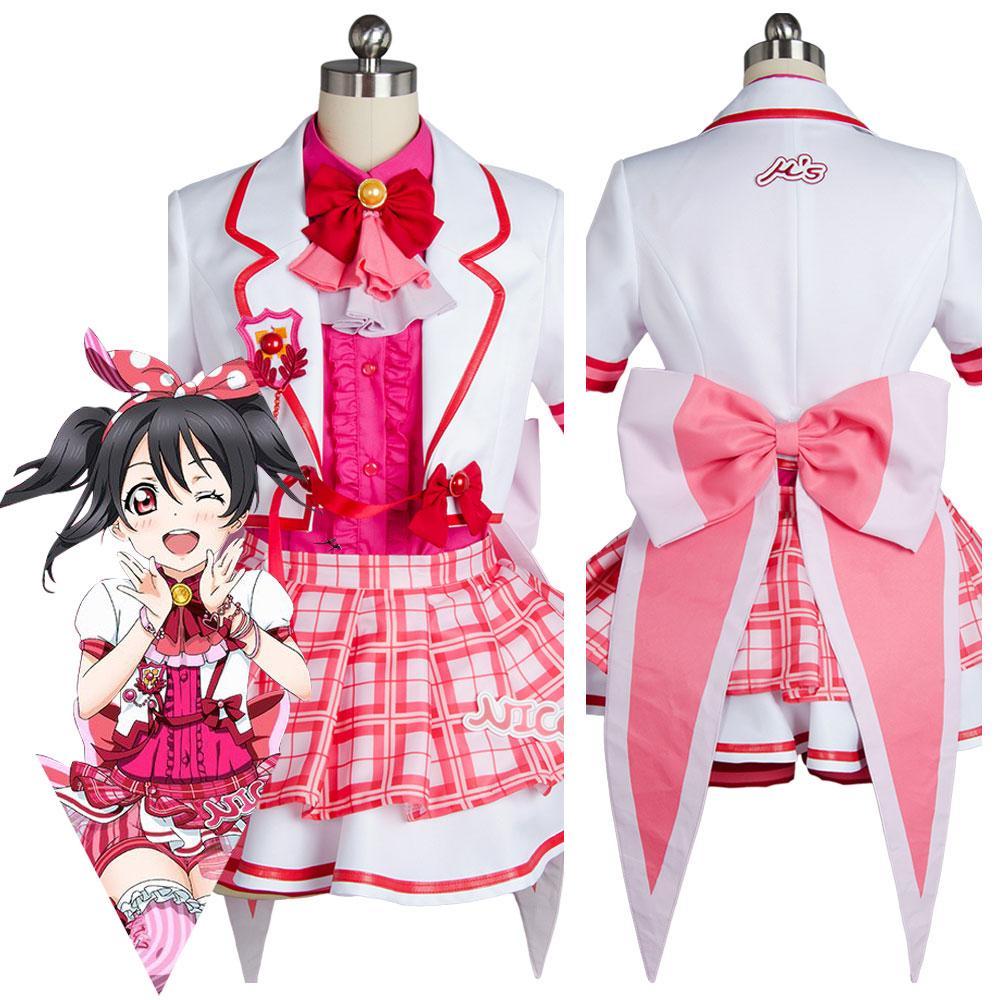 Lovelive Love Live! Niko Nico Yazawa After School Activity Dress Cosplay Costume
