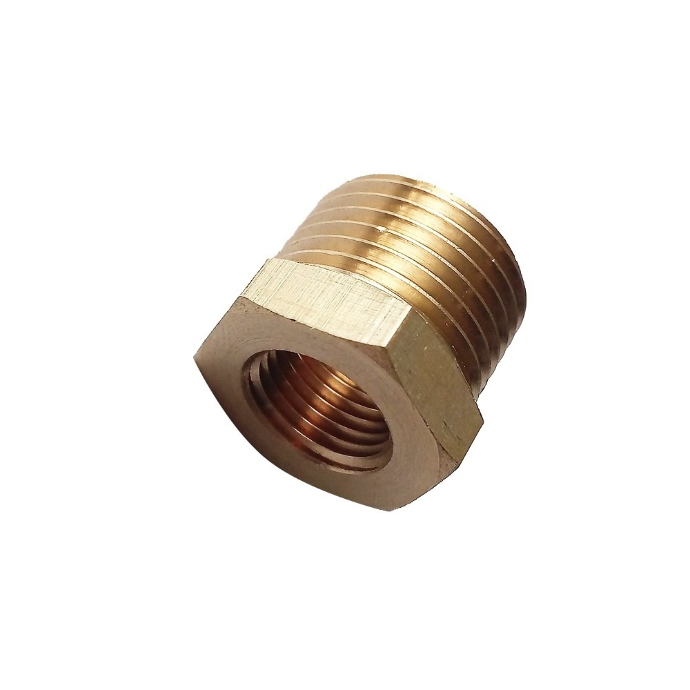 Brass Pipe Fitting Reducing Fitting Reducer Connector 3/8