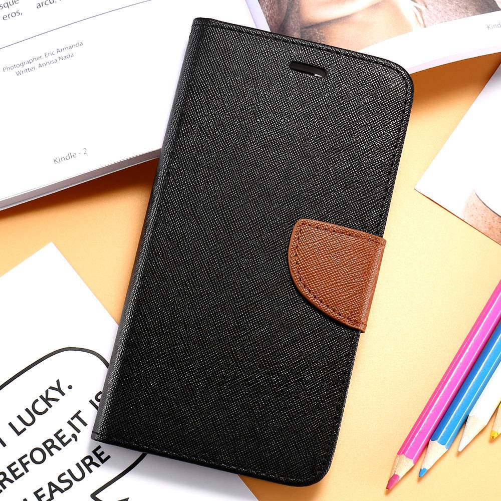 FLOVEME For iPhone 5S SE Phone Case Leather Flip Case For Apple iPhone 5 5S 5G Card Slot For iPhone 7 6 6S Plus Cases Accessory