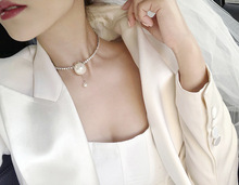 Korean Simulated Pearl Necklace