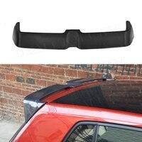 For Golf MK7 Carbon Fiber Rear Roof Spoiler for Volkswagen Golf 7 VII MK 7 GTI R 2014 2017 O Style windshield Trunk wings