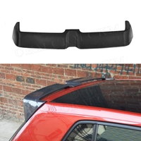 For Golf MK7 Carbon Fiber Rear Roof Spoiler for Volkswagen Golf 7 VII MK 7 GTI R 2014 2017 O Style windshield Trunk wings
