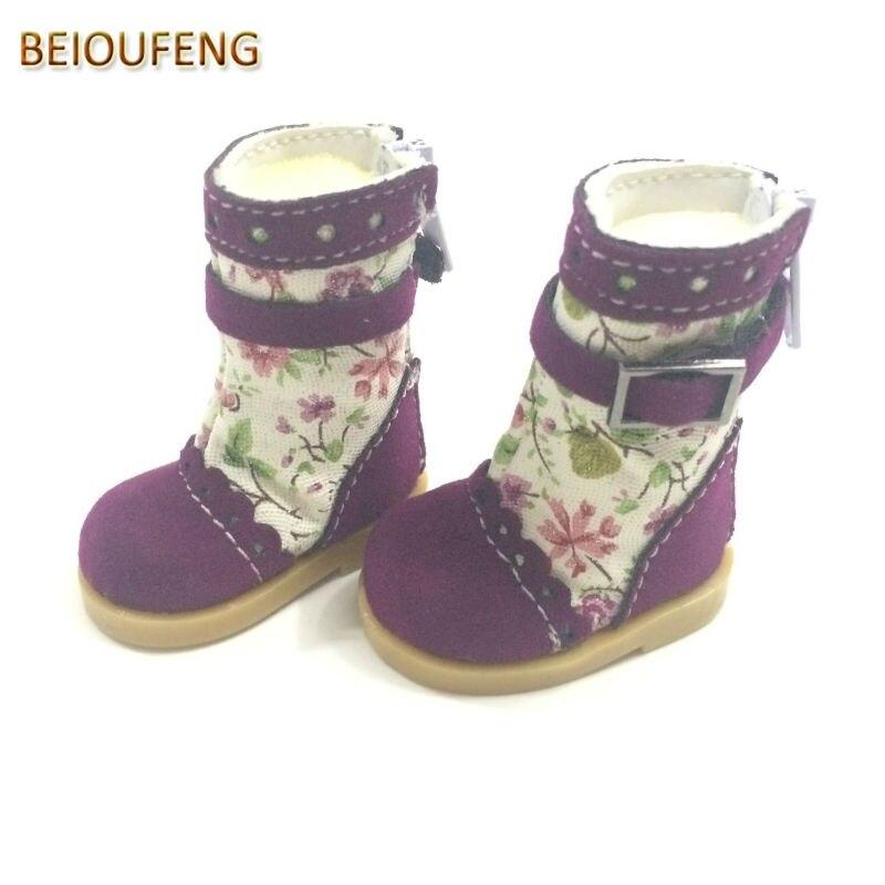 Un par de 1/6 BJD Doll Shoes 5 CM Causal Sneakers Zapatos para BJD - Muñecas y accesorios - foto 4