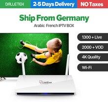 Francuski Arabski IPTV Box Hiszpania WIELKA BRYTANIA Włochy Belgia Leadcool Android TV Box IPTV 1300 QHDTV Abonnement Żywo IPTV Sportowe Subskrypcji