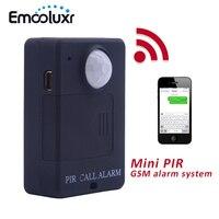 Czarny Bezprzewodowy GSM PIR Alarm Monitor Proste Łatwe Korzystanie GSM Home Security System Alarmowy PIR Czujnik Ruchu Czujnik Podczerwieni Czarny A9