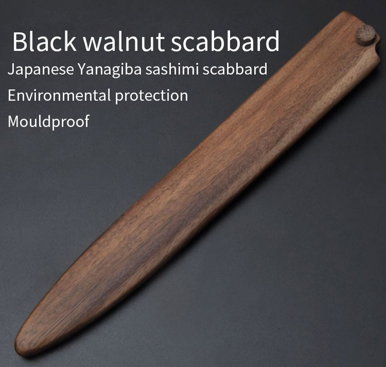 Japanese style fish cutter scabbard of sushi Special Protect the knife set Blade protector Wooden blade holder Wooden scabbardJapanese style fish cutter scabbard of sushi Special Protect the knife set Blade protector Wooden blade holder Wooden scabbard