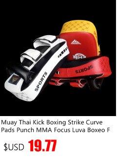 Novas almofadas de boxe thai kick boxe