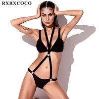 MOOSIKINI 2017 One Piece Swimsuit Women Swimwear Sexy Solid Bandage Bodysuits Bathing Suit Backless Brazilian Beachwear