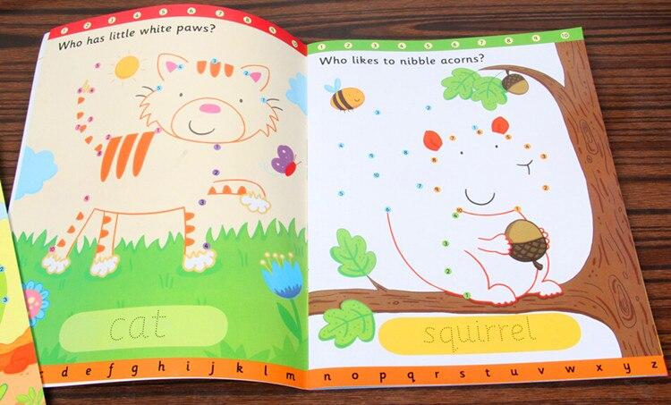 livros Kids do bebê Inglês livros de