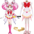 2017 de cosplay de sailor moon chibi usa sailor moon tsukino usagi cosplay dress traje traje pequeño dama serenity