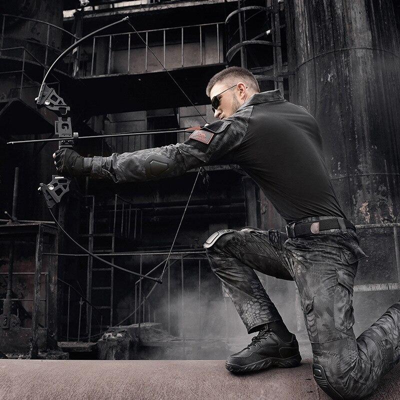Arc classique professionnel 30-45 lbs puissant tir à l'arc de chasse flèche chasse en plein air tir pêche - 3