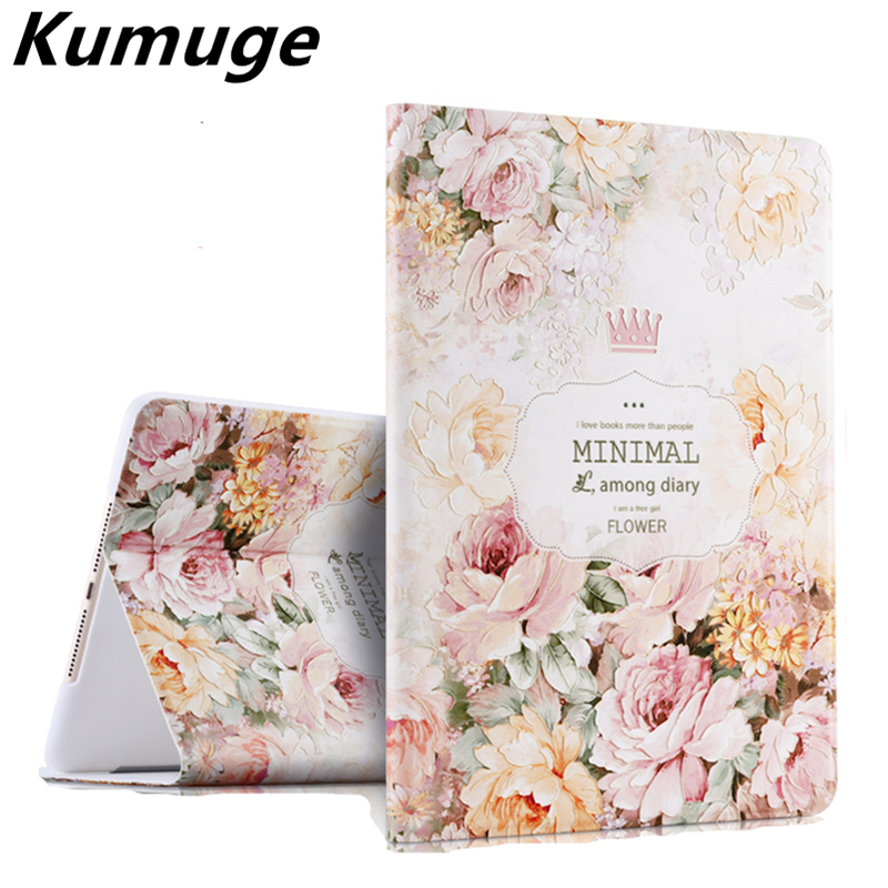 3D Releif Painting Tablet Cover Case for New iPad 9.7 2017 Tablet Case Capa Para for New iPad 2017 Model A1822 +Film + Pen transparent tpu silicone back cover for new ipad 2017 model a1822 tablet cover for funda new ipad 2017 capa para stylus pen