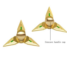 Finger Gyro Hand Spinner Tri Fidget Hand Spinner Triangle Metal Finger Focus Toy ADHD Autism Kids/Adult Fidget Puzzles Toys